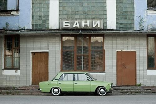 Convoy #photography #car #green