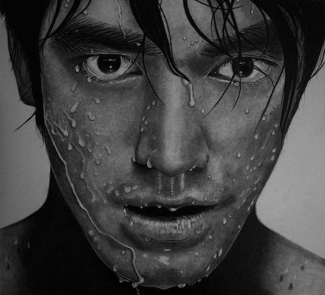 Hyperrealistic Pencil Portraits-8 #portrait #pencil #art #realistic