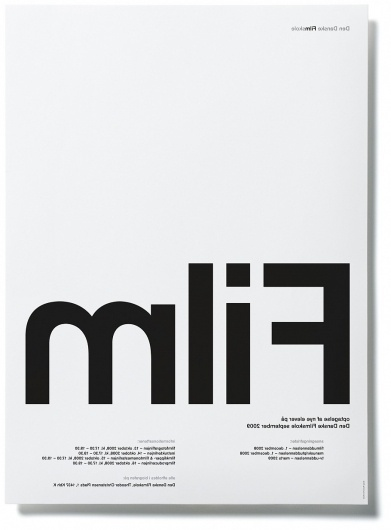 Project Images #blackwhite #education #poster #film #typography