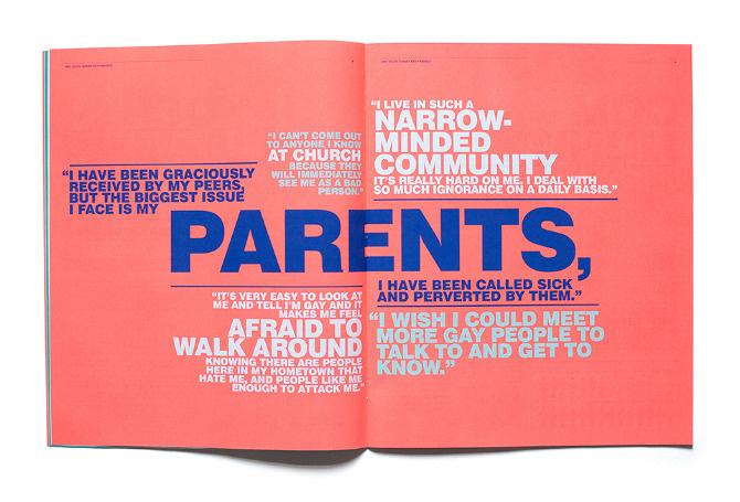LGBT Youth Report - Matt Chase   Design, Illustration
