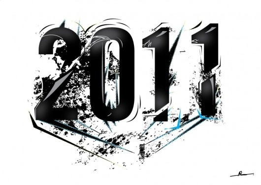 2011 by ~Robinvaneijk #2011 #vector #art