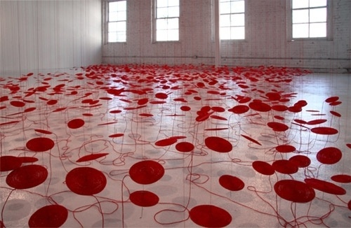 tumblr_lzit9cpR2W1qakug6o1_500.jpg (imagen JPEG, 500 × 326 píxeles) #art #installation