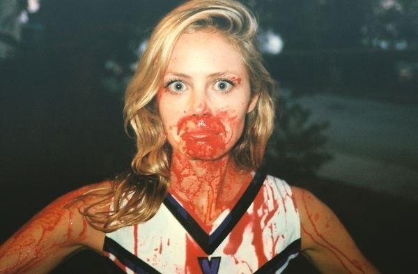 Photography by Eddie O'Keefe (1) #cheerleader #horror #blood