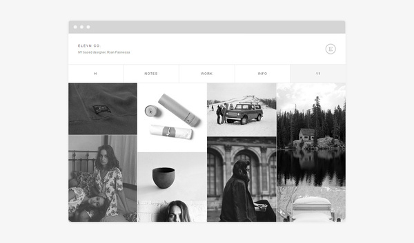 Elevn Co. by R&Co. Design #responsive #design #website #grid #digital #minimal #fluid #web