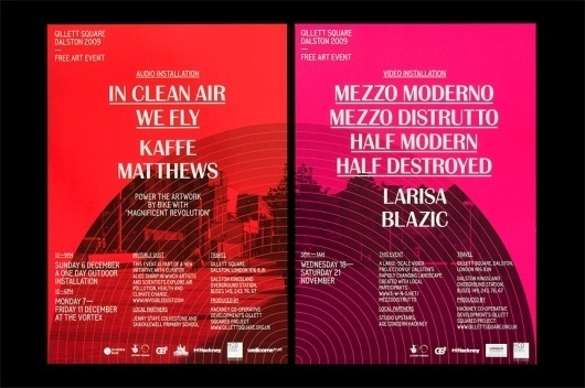 StudioMakgill - Gillet Square #event #circle #poster