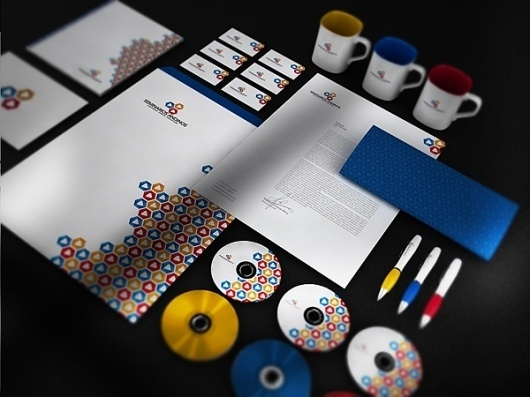 Seminarios Andinos Identity System on the Behance Network