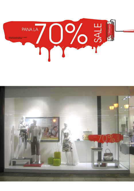 Shop Window Design Retail visual concept by Irina Bogdan at Coroflot.com #window #display #retail
