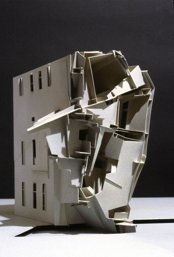 BLDGBLOG: Star Wheel Horizon #abstract #model #lebbeus #woods #architecture
