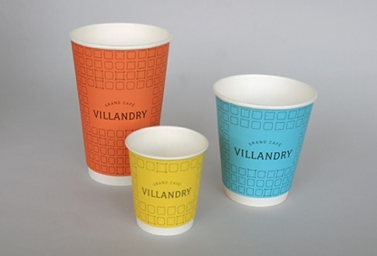 Creative Review - Mind's new look for Villandry #color #cups