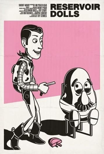 BLDGWLF - Part 7 #movie #design #illustration #poster #toy #story