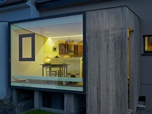 Extension C House Addition by Loïc Picquet Architecte #window #concrete #architecture