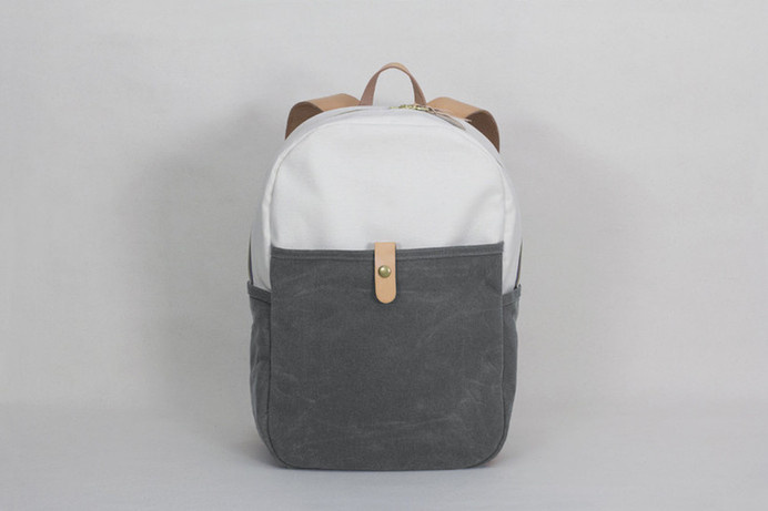 Day Pack – Natural / Grey Waxed Canvas #tech #flow #gadget #gift #ideas #cool