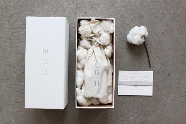 FPO: Margaret & Pat Wedding Materials #packaging #design #graphic
