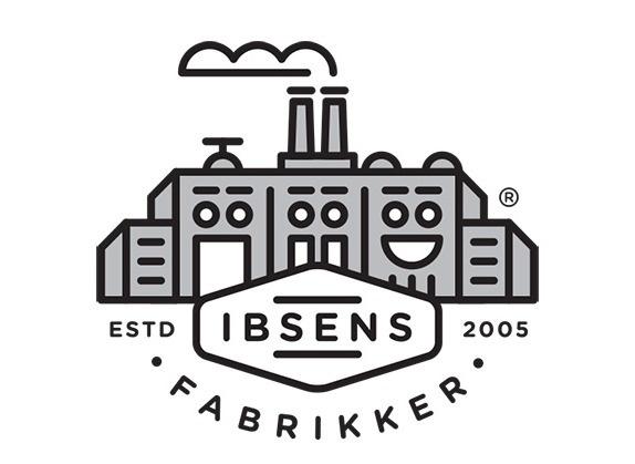 Ibsens Fabrikker #logo