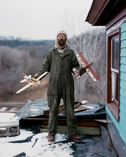 From Here to There: Alec Soth's America (10 photos) | PDN Photo of the Day #photos #soth #beard #alec #portrait #planes #magnum