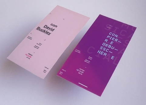 Festival Posters & Flyers on the Behance Network #print #poster #typography