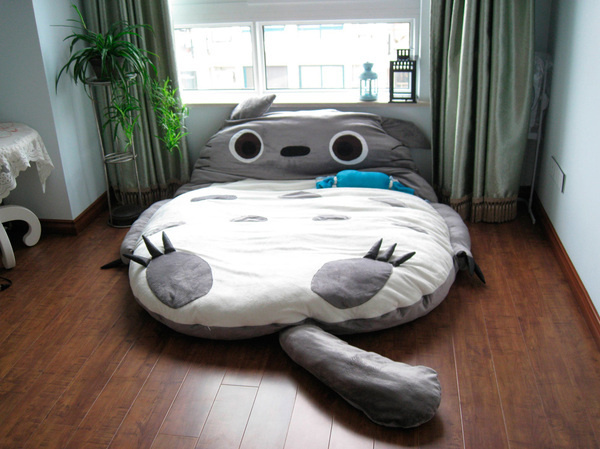 totoro bed #extrem #needs #need #bed #totoro #cuddle