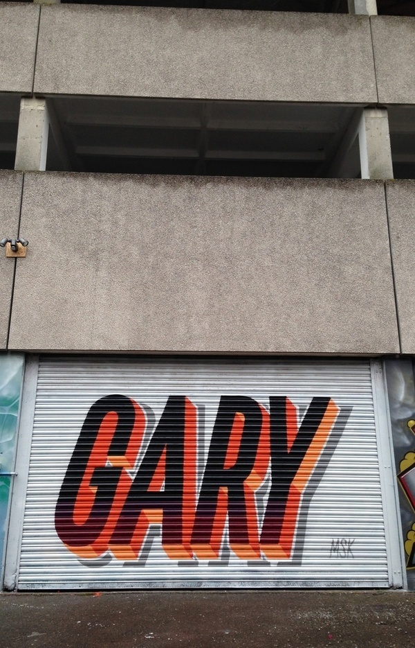 Street art/Graffiti inspiration #type #design #art #street