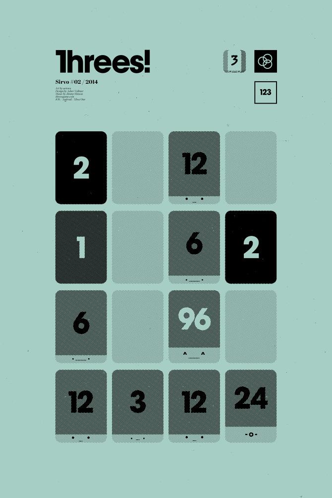 Threes! by Cory Schmitz