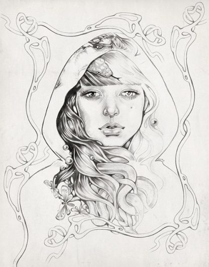 Dropular #illustration #girl