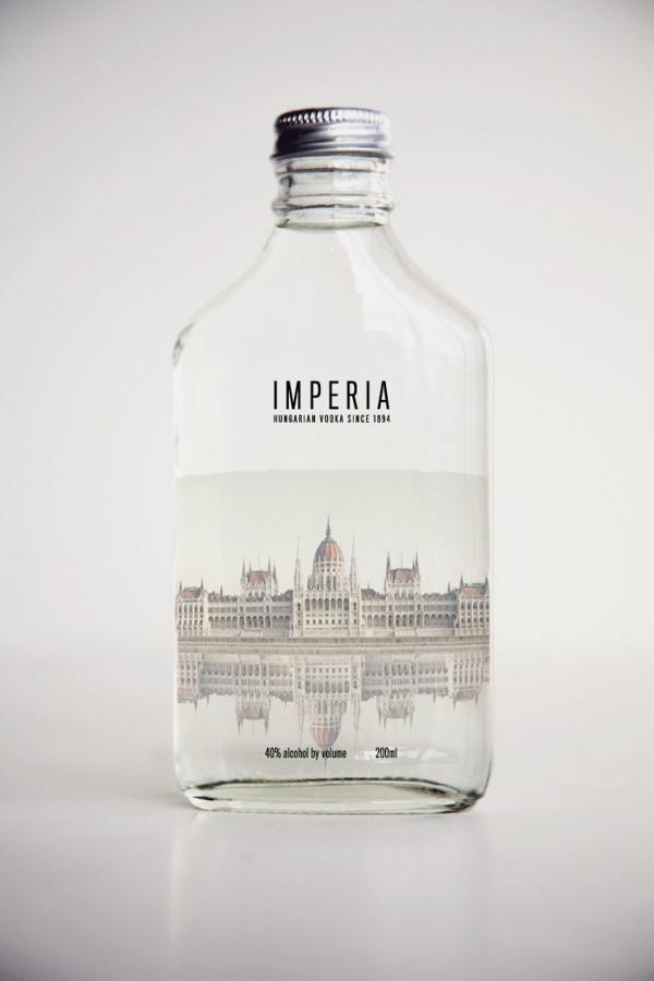 IMPERIA VODKA on Behance #packaging