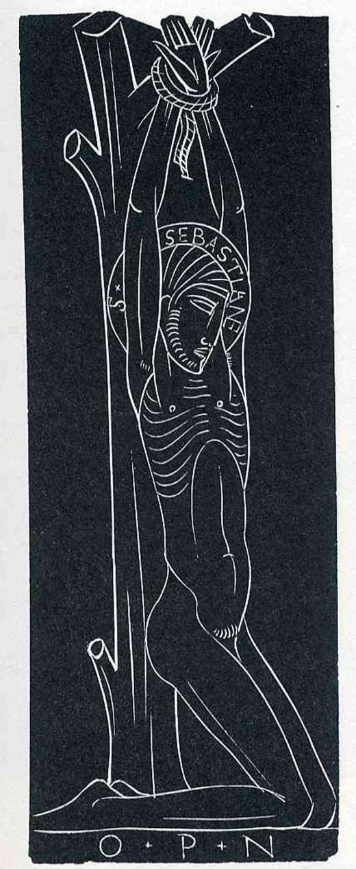 stax&cane #print #line #illustration