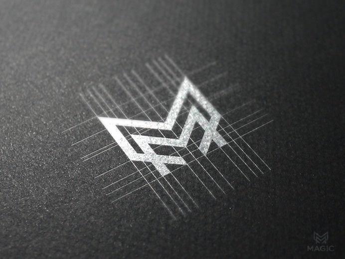 M monogram by Reloart #design #type #monogram #identity #logo