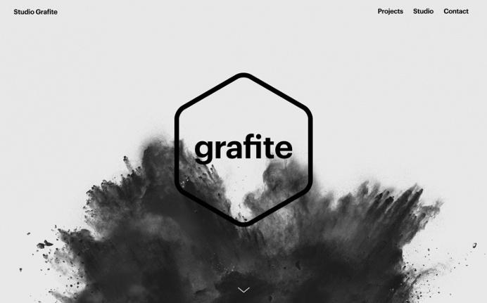 Grafite czech design studio prague webdesign branding inspiration by mindsparkle mag