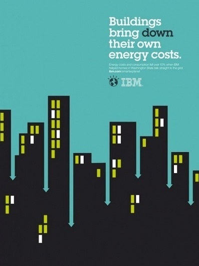 IBM's Smarter Planet Illustrations are Clever! (11 total) - My Modern Metropolis #illustration #ads #ibm #poster