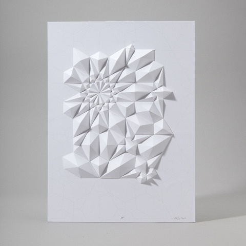 Tessellation Formation 4 | Art | The Ghostly Store #ghostly #sculpture #paper