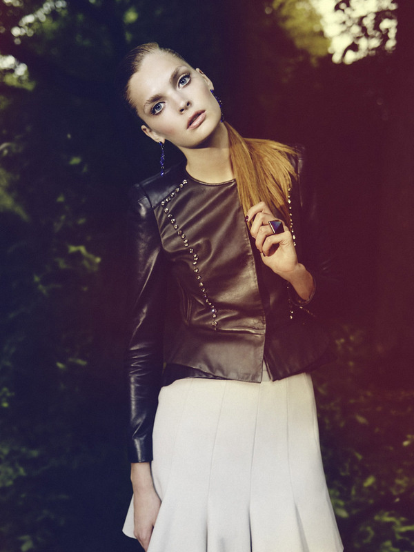 Gertrud Hegelund by Asger Mortensen for Elle Denmark #fashion #photography