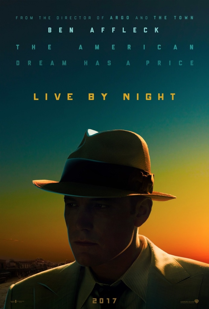 Live by Night (2016) #film #cinema #movie #poster