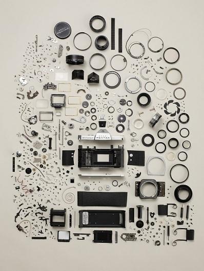 Disassembled Objects | Fubiz™ #camera #photo