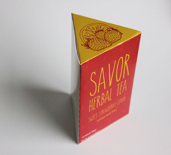 Savor Herbal Tea by Sarah Frachey