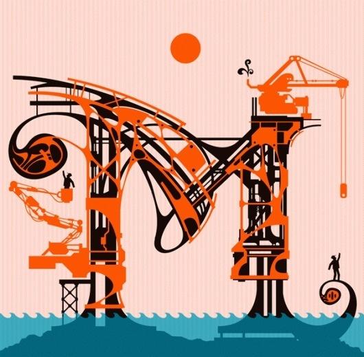 ALPHABATTLE – M — LetterCult #letter #lettercult #lettering #typography