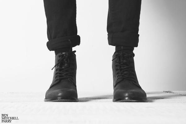 BEN M PARRY #self #boots #portrait