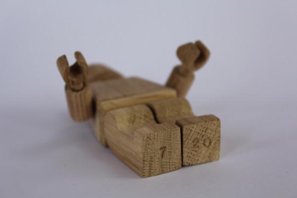 Art Toys ²° on Behance #wood #toys #lego #art