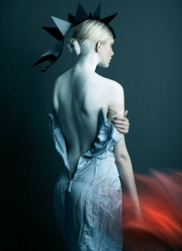 "Artistic fashion story – ""Your Majesty"" in Flare Magazine #fashion #artistic #story #art"