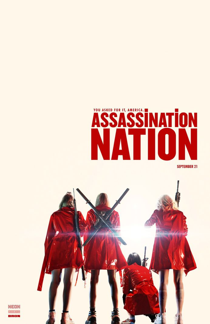 Extra Large Movie Poster Image for Assassination Nation (#2 of 3)