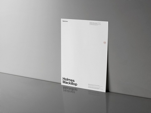 Graphical House - Holmes Mackillop #house #print #stationery #letterhead #graphical