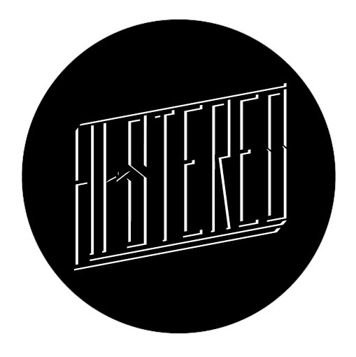 HI-Stereo dark logo - ART IS WAR - by Jacob Fulton #hi #white #war #jacob #stereo #black #logo #venice #is #histereo #fulton #art #grassland #type #band #typography