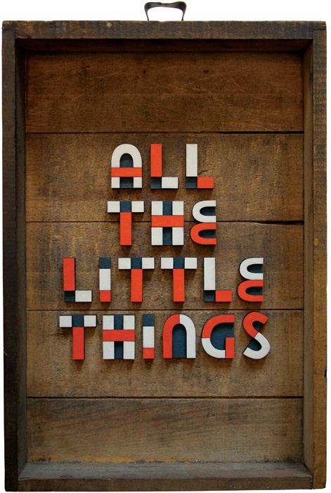 All the little things #design #graphic #quality #typography
