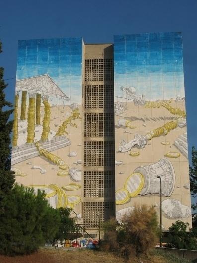 Blu In Greece - unurth | street art #art #street