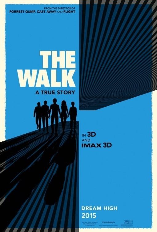 The Walk Movie Poster #movie #hollywood #retro #the #cinema #poster #blue #walk