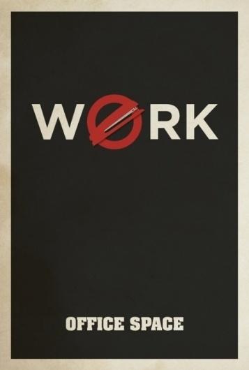 The Art of Matt Owen « These Old Colors™ #movie #design #office #matt #space #poster #minimalist #owen