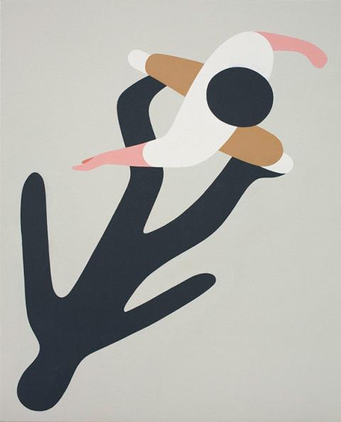 Geoff McFetridge | PICDIT #design #graphic #simple #painting #art