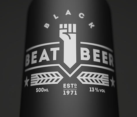 Beat Beer Bottle