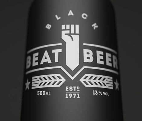 Beat Beer Bottle #packaging #beer