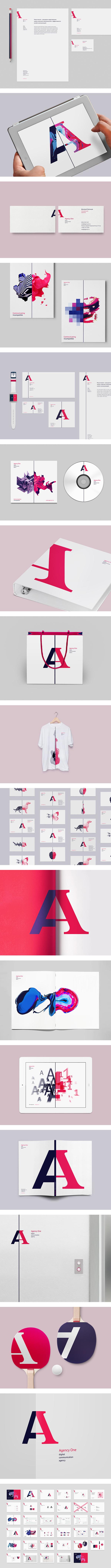 Agency One #logo #identity #excellente