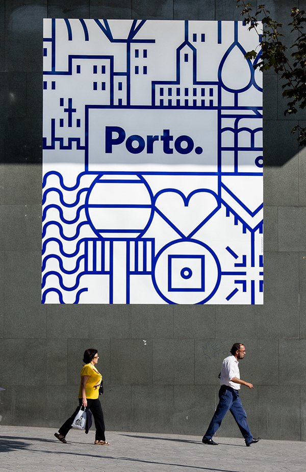 New identity for the city of Porto on Behance #posters